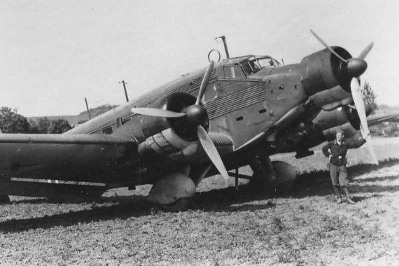 Junkers Ju 52/3m abgestürzt in Marienfeld