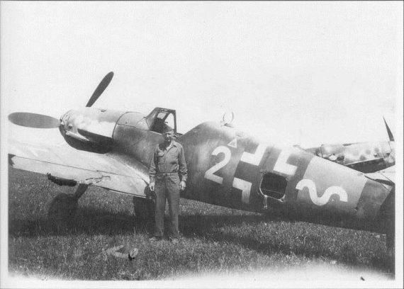 Bf 109 G-14 abgestürzt in Werther